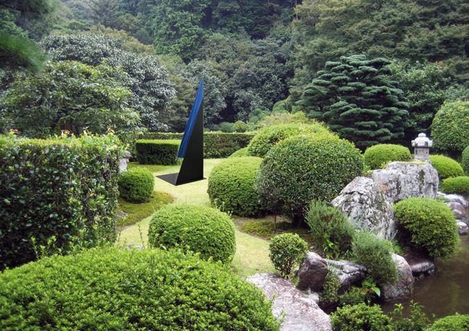 """Le Jardin de la Lune"", Temple Kiyomizu, Kyoto, Japon. -Projet Kyoto Art Walk 2011-"