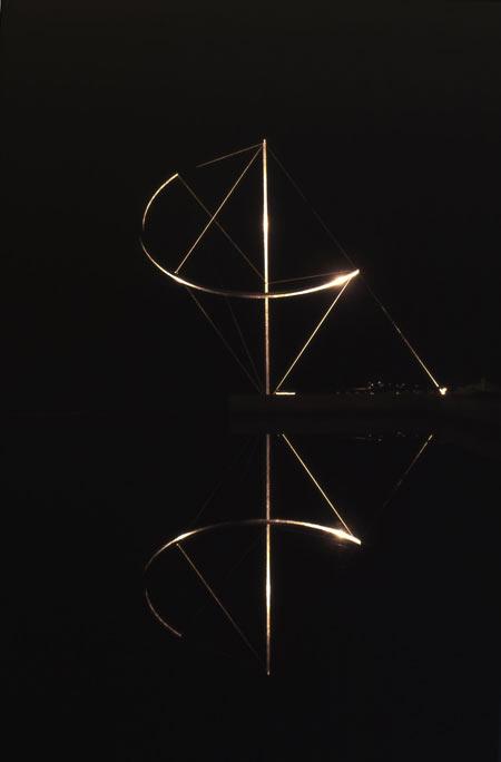 Patrick FLEURY, Scherzo (2005) aluminium 450cm x 450cm