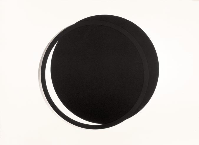 Patrick Fleury  Eclipse  (2000) gravure aquatinte (90 x 110cm, Arches 400gr.)